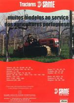 Muitos modelos ao serviço dos agricultores portugueses