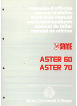 ASTER 60 - 70 - Manuel d'atelier