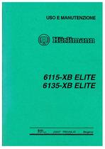 ELITE 6115-6135 XB - Libretto Uso & Manutenzione