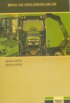 AGROTRON M 615 - AGROTRON M 625 - Brug og vedligeholdelse