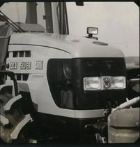 [SAME] trattore Silver 100.4 dettaglio parte anteriore
