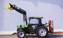 [Deutz-Fahr] trattore serie DX con caricatore frontale e carrello elevatore