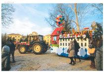 [SAME] trattore Antares 100 durante la festa di Carnevale 2018 a Ravadese - Parma