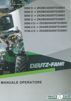 5080 D ->ZKDBC20200TD30001 - 5080 D ->ZKDBD40200TD30001 - 5090 D ->ZKDBC60200TD30001 - 5090 D ->ZKDBD80200TD30001 - 5090.4 D ->ZKDBD00200TD30001 - 5090.4 D ->ZKDBE20200TD30001 - 5100.4 D ->ZKDBE60200TD30001 - Manuale operatore