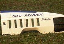 [Lamborghini] trattore Premium 1060, dettaglio cofano e visibilità da interno cabina