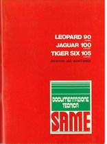 LEOPARD 90 TURBO - JAGUAR 100 EXPORT - TIGER SIX 105 EXPORT - Operating and maintenance