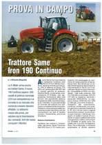 Trattore SAME Iron 190 Continuo