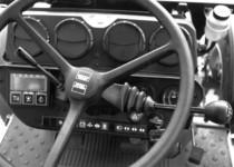 Particolari interni di un trattore Deutz-Fahr