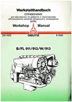 B/FL 911/912/W/913 - Werkstatthandbuch / Workshop Manual / СПРАВОЧНИК