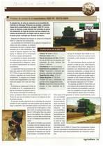 Pruebas de campo de la cosechadora 5585 HT-Deutz-Fahr