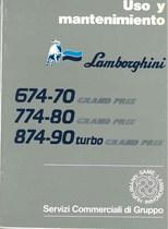 674-70GP- 774-80GP- 874-90 Turbo Grand Prix - Uso y Manutencion