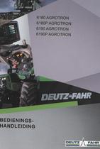 6180 AGROTRON - 6180P AGROTRON - 6190 AGROTRON - 6190P AGROTRON - Bedienings-handleiding