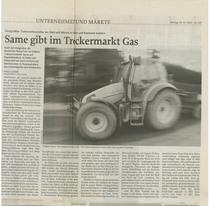 SAME gibt im Treckermarkt Gas