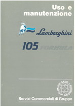 105 FORMULA - Libretto Uso & Manutenzione