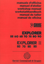 EXPLORER 55 - 60 - 65 - 70 - 75 - 80 - 90 EXPLORER II 60 - 70 - 80 - 90 - Manual de oficina