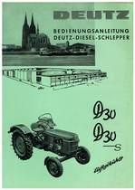D 30-D30 S - Bedienungsanleitung