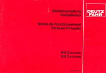 KH 2.36/D/DN - KH 2.44/D/DN - Betriebsanleitung - Notice de fonctionnement