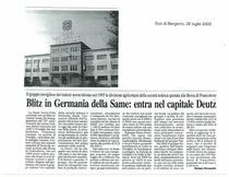 Blitz in Germania della SAME: entra nel capitale Deutz