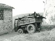 Samecar Agricolo durante trasporto tronchi