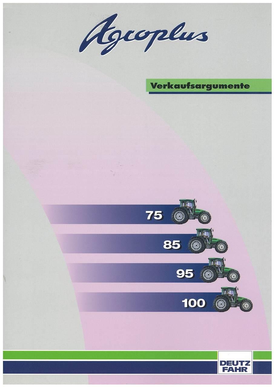 Agrocompact - Verkaufsargumente - 75-85-95-100