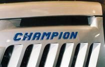Particolare del trattore Lamborghini Champion