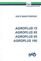 AGROPLUS 75-85-95-100 - Libretto Uso & Manutenzione