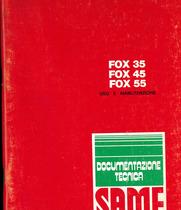 FOX 35-45-55 - Libretto uso e manutenzione