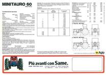 MINITAURO 60 FRUTTETO
