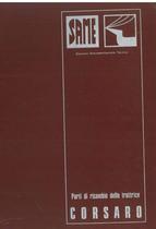 CORSARO 70 SYNCHRO - Catalogo Parti di Ricambio / Catalogue de pièces de rechange / Spare parts catalogue / Ersatzteilliste / Lista de repuestos