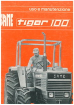 TIGER 100 - Libretto uso & manutenzione