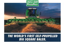 POWER PRESS - The world's first self-propelled big square baler