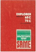 EXPLORER 65 C - 75 C ERGOMATIC - Libretto uso & manutenzione
