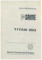 TITAN 160 - Libretto uso & manutenzione
