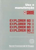 EXPLORER 60 II- 70 II -80 II- 90 II TURBO - Uso e Manutençao