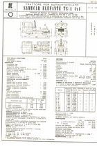 Atto di omologazione del trattore per autoarticolato SAME Samecar Elefante TS/A 4x4