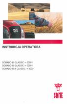DORADO 80 CLASSIC ->30001 - DORADO 90 CLASSIC ->30001 - DORADO 90.4 CLASSIC ->30001 - Instrukcja operatora