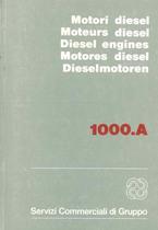 MOTORE - 1000.A - Motore Diesel / Moteurs Diesel / Diesel Engines / Motores Diesel / Dieselmotoren