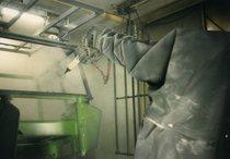 [Deutz-Fahr] cabine trattori AgroXtra nell'impianto di verniciatura dello stabilimento di Colonia