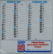 Calendario 1980