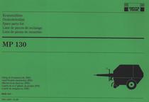 MP 130 - Ersatzteilliste gültig ab Produktion Nr. 6830 101 / Onderdelenlijst vanaf Produkt identiteitnr. 6830 101 / Spare parts list effective from ident no. 6830 101 / Liste de pièces de rechange a partir du no. d'ident. du produit 6830 101 / Lista de piezas de recambio a partir de maquina no. 6830 101