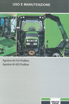 AGROTRON M 410 PROFILINE - AGROTRON M 420 PROFILINE - Uso e manutenzione
