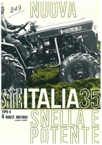 NUOVA ITALIA 35 a 4 Ruote Motrici