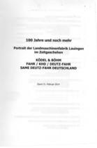 DAMM Hinderikus, 100 JAHRE UND NOCH MEHR, S.l., S.n., 2014
