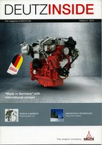 DeutzInside - The Magazine of Deutz AG