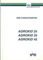 AGROKID 25-35-45 - Libretto Uso & Manutenzione