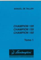 CHAMPION 120 - CHAMPION 135 - CHAMPION 150 - Manual de taller