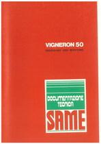 VIGNERON 50 - Bedienung und wartung
