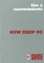 ROW CROP 90 - Uso y mantenimiento