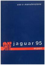 JAGUAR 95 EXPORT - Libretto uso & manutenzione
