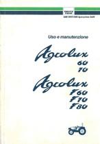 AGROLUX 60-70-F 60-F 70-F 80 - Libretto Uso & Manutenzione